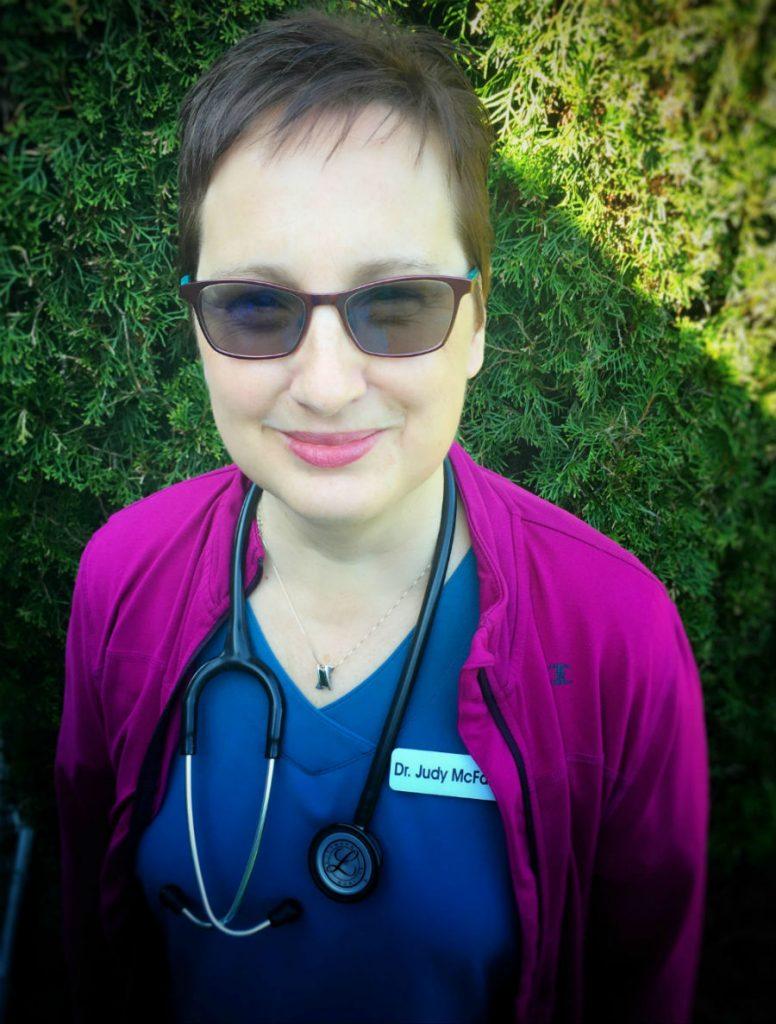 Veterinarian Judy McFarlen